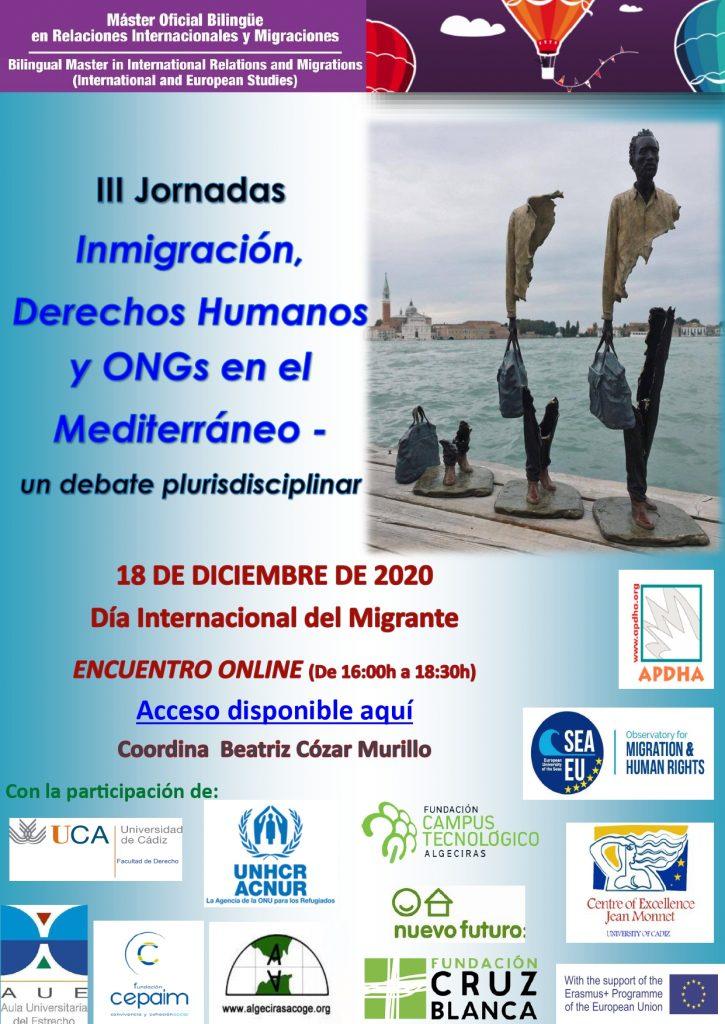 III Jornadas Inmigración, Derechos Humanos y ONGs en el Mediterráneo – un debate plurisdisciplinar